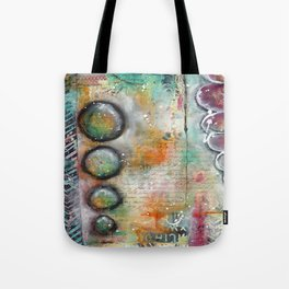 Mixed Media Collage 1 Tote Bag