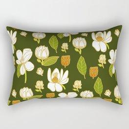 Sweet Magnolia Rectangular Pillow
