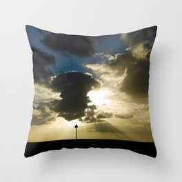 Sunset in Gran Canaria Throw Pillow