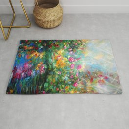 Roses paint  Rug