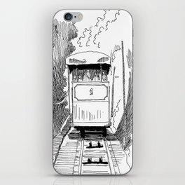 Funicular in Santiago iPhone Skin