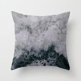 Stormy Seas III Throw Pillow