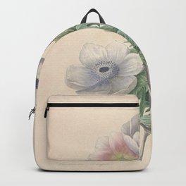 Vintage Print Backpack