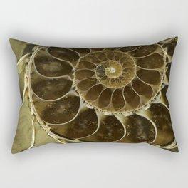 Fossil in brown tones Rectangular Pillow