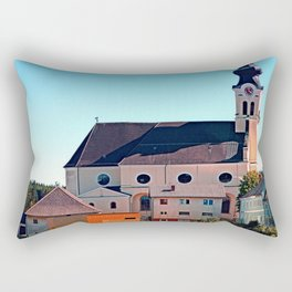 The village church of Reichenthal Rectangular Pillow