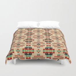 Poncho azteca Duvet Cover