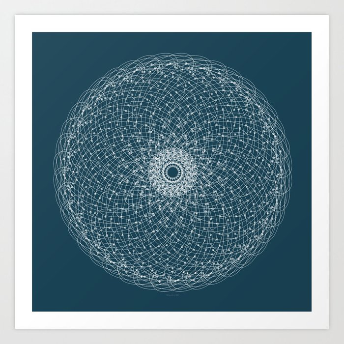 Ornament – Blossomsphere Art Print