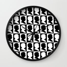 Ada Lovelace Pop Art Wall Clock