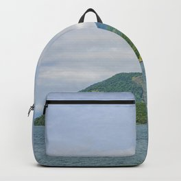The mountains and the ocean Backpack
