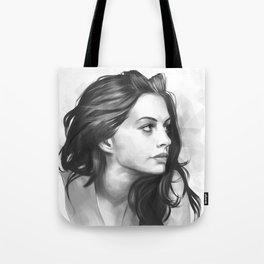 Anne Hathaway minimalist illustration Tote Bag