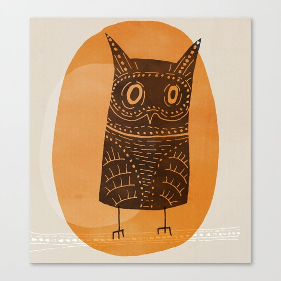 This is my owl Canvas Print