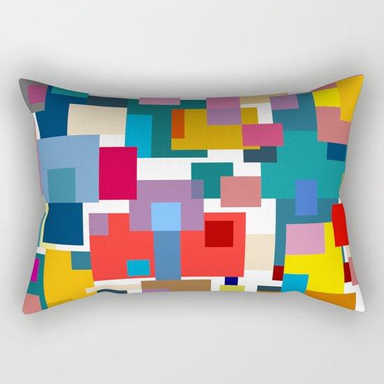 Color Blocks #6 Rectangular Pillow