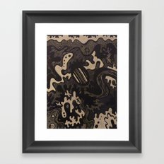 The Great Divide Part III Framed Art Print
