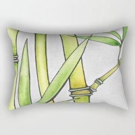 Three Bamboo Rectangular Pillow