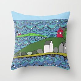 South Portland Throw Pillow