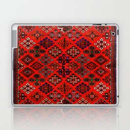 -A30- Red Epic Traditional Moroccan Carpet Design. Laptop & iPad Skin
