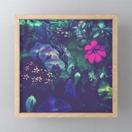 Gathering of Flowers - [Purple Version] Framed Mini Art Print