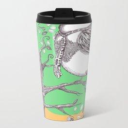 Bird & Tree (Color) Metal Travel Mug