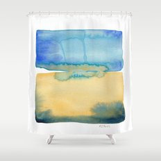 Color Field No. 2 Shower Curtain
