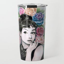 Audrey Hepburn as Holly Golightly Travel Mug