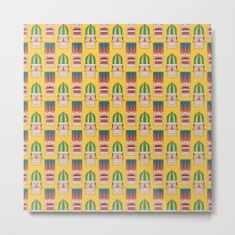 Nut Crackin' Army (Patterns Please) Metal Print