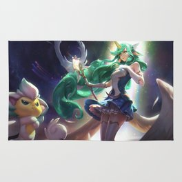Star Guardian Soraka League Of Legends Rug