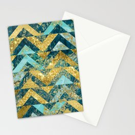 Marble Glitz Stationery Cards