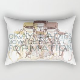 In Formation Rectangular Pillow