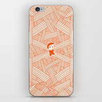 labyrinth iPhone & iPod Skins featuring Labyrinth by Jarvis Glasses