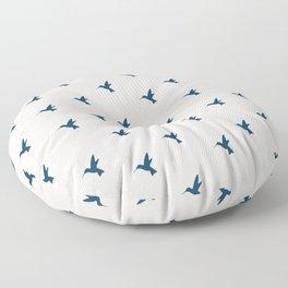 Hummingbird Flight Floor Pillow