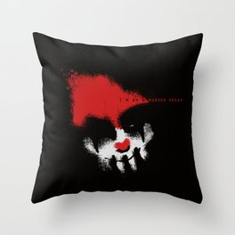 I'm on a Murder Break Throw Pillow