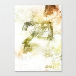 24 Canvas Print