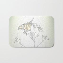 """""""Grafik 030"""" Butterfly Art by Murray Bolesta Bath Mat"""