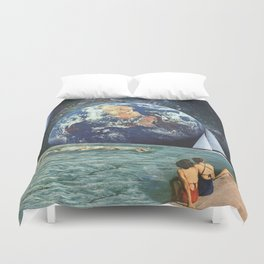 Earthly Currents Duvet Cover