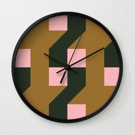 Cross Section Wall Clock