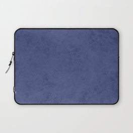 Blue suede Laptop Sleeve