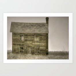 House on Hoopers Island Art Print