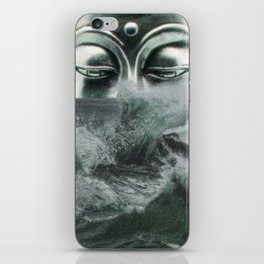 Buddha in the sea iPhone Skin