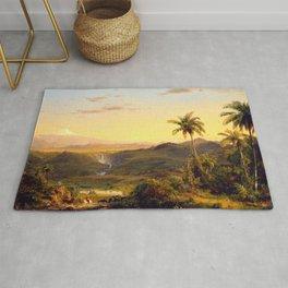 "Frederic Church ""Cotopaxi"" (1855) Rug"