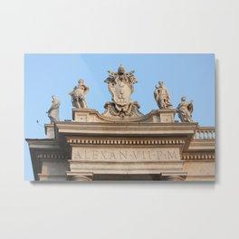 Papal Keys  Metal Print