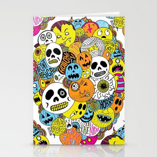 Halloween Print Stationery Cards