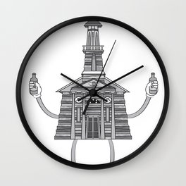 Ready To Sin Wall Clock