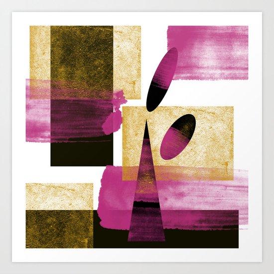 Abstract Mother Art Art Print