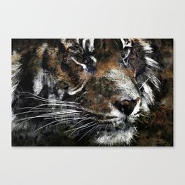 Majestic Tiger Canvas Print