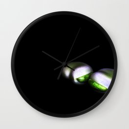 Two Broad Beans Wall Clock