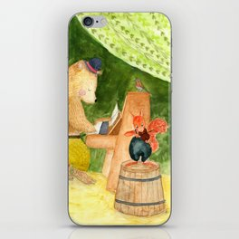 Forest concert iPhone Skin