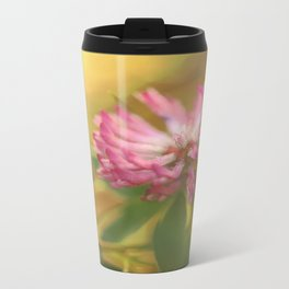 Clover Flower in Romantic Mood  Travel Mug