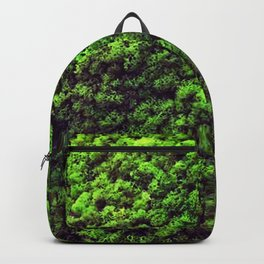 Dark Green Moss Backpack