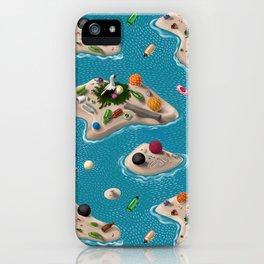 Trash Islands iPhone Case