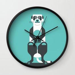 Leaping Lemur Wall Clock